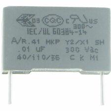 0,15uF,150nF,Entstörkondensator,Kondensator X418 1x KNB1540 MKP X1 0,15µF 440V~