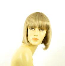 Parrucca donna corta bindo chiaro mechato biondo molto chiaro  FLORENCE 15T613
