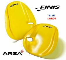 FINIS Agility Strapless Hand Paddle for Swimming Training Yellow Large