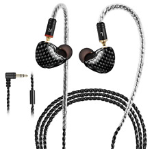 In-ear Earphone 0.78 2 pin With Detachable MMCX Cable Dynamic Hifi Monitor Mic