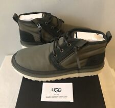 UGG Men's Size 9 Neumel Zip Boot Military Green 1102430 New In Box