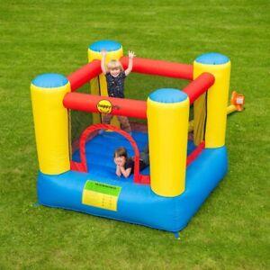 AirFlow 6ft Bouncy Castle Kids Outdoor Summer Activity Toy Unisex Garden Kids