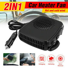 12V 200W Car Heater Auto Van Warm Defroster Cool Fan Windscreen Window Demister