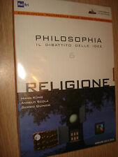 DVD N°6 PHILOSOPHIA EL DEBATE DELLE IDEE RELIGIÓN KUNG DOWNS QUINZIO Küng
