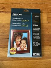Epson Ultra Premium Glossy 5x7 Photo Paper - 20 Sheets