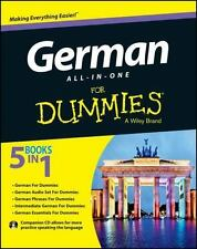 German All-in-One for Dummies by Consumer Dummies Staff (2013, Paperback)