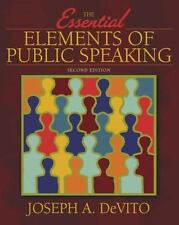 Essential Elements of Public Speaking, The (2nd Edition) (MySpeechLab Series)