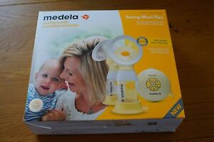 Medela Swing Maxi Flex Double Electric Beast Pump (light used boxed) + EXTRAS