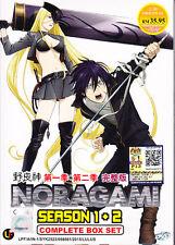 Noragami Season 1 & 2 ( Eps : 1 to 26 end) DVD with English Subtitle