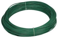 VERDELOOK Matassa Plast Filo di ferro plastificato diametro 3.3mm x 100m verde