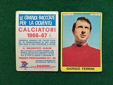 CALCIATORI 1966/67 66/1967 TORINO Giorgio FERRINI Figurina Sticker Panini (NEW b