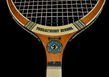 Bright Vintage Wood 1940 Pinguin TOURNAMENT Tennis Racket Made in Holland