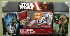 Disney STAR WARS Ultimate Activity Case Arts & Crafts Markers Stickers New Gift