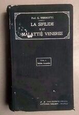 LA SIFILIDE E LE MALATTIE VENEREE VERROTTI 1923 MEDICINA