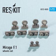Reskit - 72-0035 - Mirage F.1 (wheels set) - 1:72