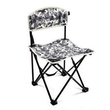 Hiking Camping Fishing Chair Seat Portable Compact Folding Seating Backrest