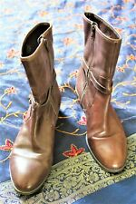 RALPH LAUREN SUPER SOFT BROWN LEATHER BOOTS SO COMFORTABLE TOP QUALITY 6.5UK