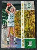 2019-20 Optic Larry Bird SP Winner Stays Holo Gold Wave Prizm Tmall Celtics