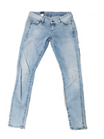 G-Star RAW Jeans Damen W28 L34 3301 Low Super Skinny Wmn Nippon Stretch LT Aged