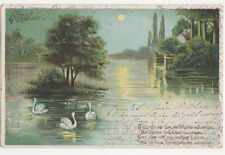Gruss Aus Paderborn Germany 1901 U/B Postcard US002