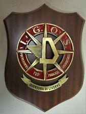 """Crest """"D.I.G.O.S. - POLIZIA DI STATO - QUESTURA DI LIVORNO"""" - (Rarità)"""