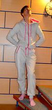 Homewear-Relax-jumpsuit con contraste Inlet. gris claro. talla 42.! nuevo!