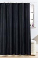 Diamante Design Bathroom Polyester Shower Curtain Standard 180 x 180cm W/T Hooks