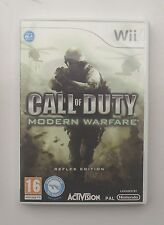 Call OF DUTY MODERN WARFARE Wii PAL