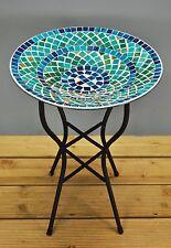 Blue Mosaic Wild Garden Bird Bath by Gardman