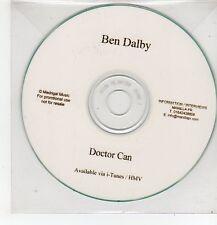 (FF552) Ben Dalby, Doctor Can - DJ CD