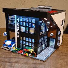 2926Pcs Creator Expert Modern Café Building Block Set Compatible with Lego !!
