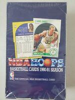 1990 - 1991 NBA Hoops Basketball Series 1 Box - Factory Sealed - 36 packs