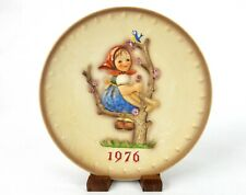 """Apple Tree Girl"" ~ Mj Hummel 1976 Collector Plate ~ Goebel 6th Annual #Plt69B"