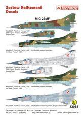 Techmod 1/32 Mikoyan MiG-23MF FLOGGER B polaco de la fuerza aérea X 5 # 32055
