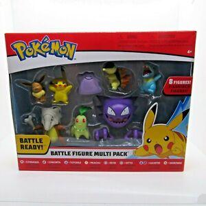 Pokemon Battle Figure Battle Ready Multi Pack 8 Figures Pikachu Eevee NEW