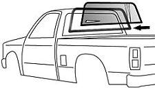 82-93 Chevy/GMC S10 Truck Rear Glass Gasket Weatherstrip Seal