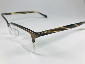 New Oliver Peoples Eyeglasses 1088T 5075 Donnelly brown Havana 53 Titanium wcase