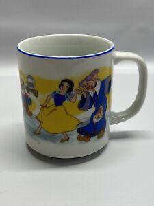 Vintage ~ Disney ~ Snow White and the Seven Dwarfs ~ Cup Mug ~