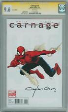 CARNAGE #2 SPIDER-MAN VARIANT CGC 9.6 SIGNATURE SERIES SIGNED CLAYTON CRAIN