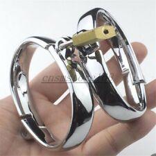 Metal Handcuffs Ankle Wrist Cuffs Restraint Bondage Cuffs Lock Roleplay BDSM Fun