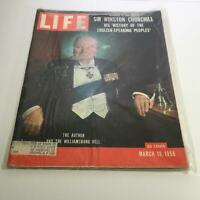 Life Magazine: Mar 19, 1956 - Beginning in this Sir Winston Churchill