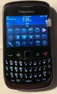 NEW BlackBerry Curve 9300 - Black Purple (T-Mobile) Cell Phone Test Phone