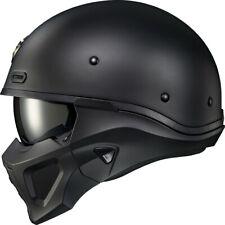 New Scorpion Covert X Matte Flat Black Motorcycle Helmet
