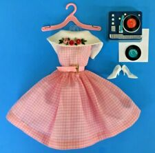 Vintage BARBIE DANCING DOLL Outfit #1626 Original & Complete 1965 only VGC