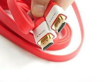 For Sony PS3 XBOX360 3D HDTV 2M SONY HDMI 1.4 Cable High Speed 1080P red