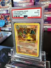 Shadowless Charizard PSA 2 GOOD 1999 Pokemon Base Set Holo 4/102