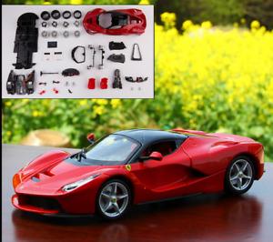 Maisto 1:24 Diecast Assembly Ferrari Laferrari Diy Racing Car Model Kits