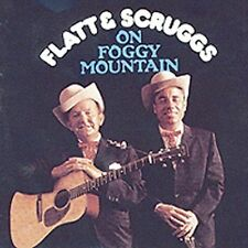 "FLATT & SCRUGGS, CD ""ON FOGGY MOUNTAIN"" NEW SEALED BUSTED CASE"