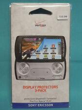 Display Protectors 3 pack Sony Ericsson-Xperia-Verizon