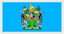 "President of Rhodesia flag STICKER 2x4"" 50x100mm bumper decal car Aufkleber auto"